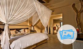 Bush Lodge bedroom Luxury Suite