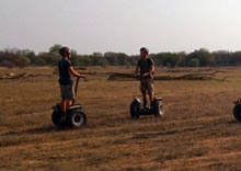 Segway Game Drives at Finfoot Lake Reserve