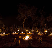 Boma Dinner at Makalali tented Camp