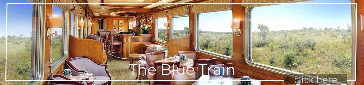 Blue Train Carriage