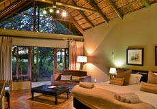 Bedroom at Black Rhino Lodge