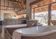 Baths in the Africa suite