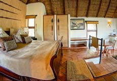 Luxury room at Madikwe River Lodge