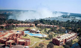 Avani Victoria falls Resort overlooking the Falls