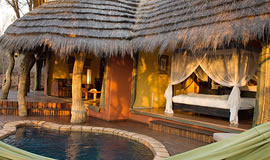 Plunge pool at Jacis Safari Lodge