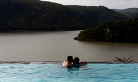 Overlooking the Jozini Dam from the Swimming Pool