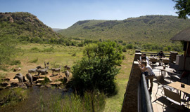 game Viewing from the deck of Kwa Maritane