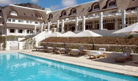 Swimming pool at Le Franschoek