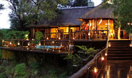 Madikwe River Lodge Deck