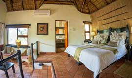 Standard room at Madikwe River Lodge
