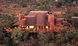 View of Nungubane Game Lodge