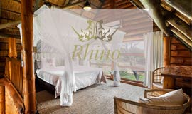 Bedroom at Rhino River Lodge