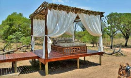 Sala on a luxury Suite at Safari Plains