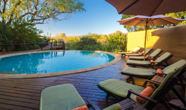 Pool at Shishangeni Lodge