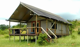 Springbok Lodge Luxury tent