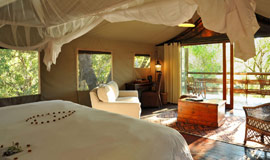 Thakadu Lodge Suite - View from bedroom
