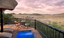Tshukudu Game Lodge Pool Deck