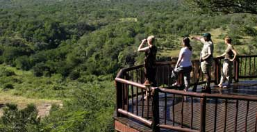 Viewing Deck at Mkuze Falls
