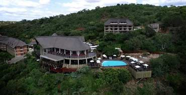 Aerial view of Jozini Tiger Lodge