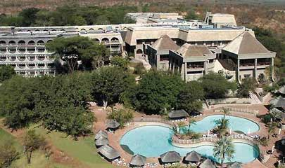 Aerial view of Elephant Hills Hotel