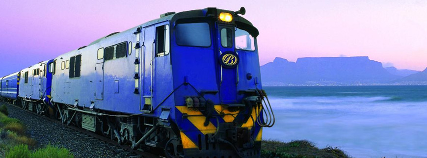 Blue Train in Cape Town, Table Mountain