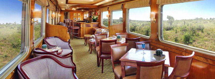 Lounge Car on the Blue Train