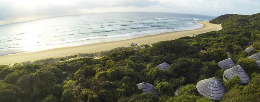 Tonga Beach Lodge in Zululand