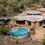 Mthembu Game Lodge from above